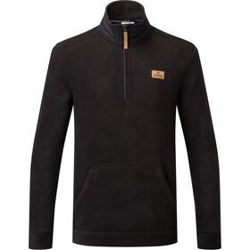 tentree PlusLoft Langærmet trøje m. 1/4 lynlås Herrer, sort